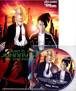 PURE18CD - Alan D. Oldham - Johnny Gambit 01 (CD+Comic) PURE SONIK