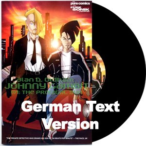 PURE18LP - Alan D. Oldham - Johnny Gambit 01 (LP+Comic Book) [GERMAN] PURE SONIK