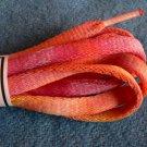 Orange / Yellow Ooh-la-la Shoelaces (#6)