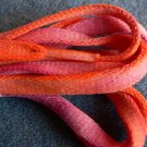 Orange / Pink Ooh-la-la Shoelaces (#4)