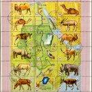 Birds Animals Fauna On Souv Sheets Of Burundi #336;C102