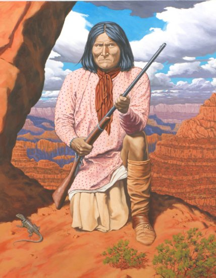 GERONIMO*LIMITED EDITION PRINT  1/250
