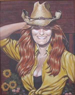 Personal Portrait painting example 4