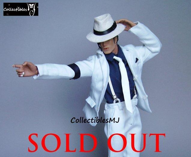 1/6 Hot Custom Michael Jackson Smooth Criminal Toys Figure Doll