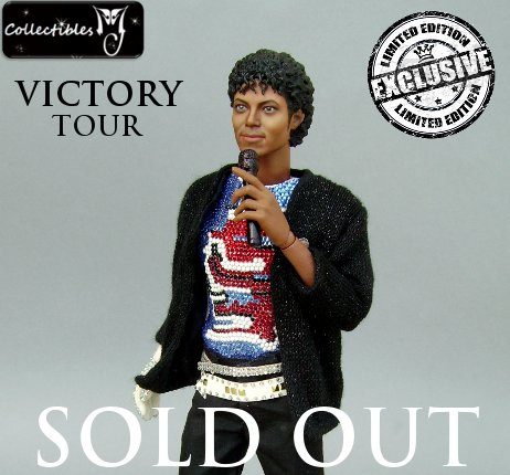 1/6 Hot Custom Michael Jackson Billie Jean - Victory Tour Toys Figure Doll - SOLD OUT !