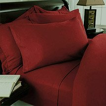 1000 TC EGYPTIAN COTTON SOLID QUEEN BRICK SHEET SET
