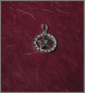 Silver 925 Bulgari Inspired Star Pendant