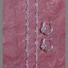 Silver 925 Heart Deux Set