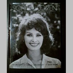 SOPHIA LOREN IN THE CAMERA EYE by Sam Shaw~Movies/Biography/Photos/Entertainment