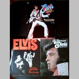 3 ELVIS PRESLEY Biography Books~ILLUSTRATED ELVIS~THE BOY WHO DARED TO ROCK~THE FILMS & CAREER