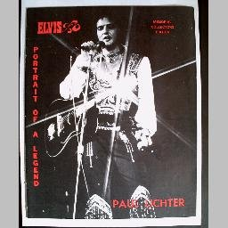 ELVIS: PORTRAIT OF A LEGEND by Paul Lichter~Hard-to-Find PHOTO MEMORIAL of the King
