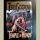 TEMPLE OF THE WINDS~Sword of Truth Series, Book 4~by Terry Goodkind~1st edition, 2nd printing