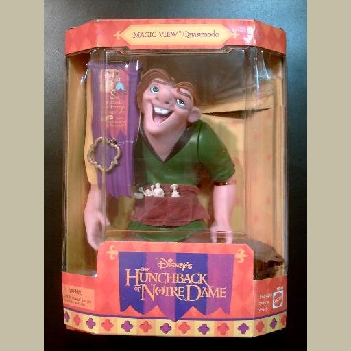 Disney~The HUNCHBACK of NOTRE DAME~Magic View QUASIMODO Doll~Mattel 1995
