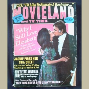 MOVIELAND~1973~v30/#9~VINTAGE CELEBRITY MAGAZINE~LIZ~BURTON~Jackie~Osmands~David Cassidy~Doris Day++