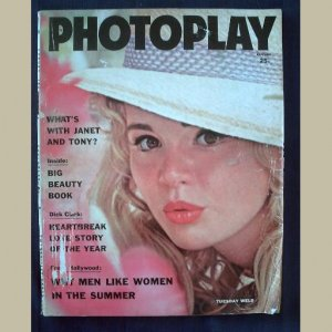 PHOTOPLAY~1961~v60/#2~VINTAGE CELEBRITY MAGAZINE~TUESDAY WELD~Dick Clark~Sandra Dee~Curtis~Avalon++