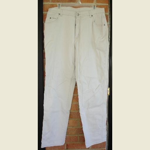 Light Khaki/Cream JEANS by Lee ~Pants ~Size 16 M Women