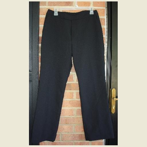 Black stretch Dress SLACKS by Stringbean ~excellent condition ~pants size 11 Junior