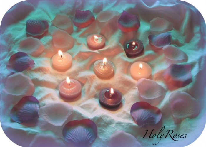100 Mix of Lavender & Pink Silk Rose Petals Weddings Crafts
