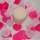 1000 Mix of Fuscia and Light Pink Silk Rose Petals Weddings Crafts