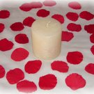 100 Red Silk Rose Petals Weddings Crafts (Small)