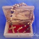 Olive Wood Box Bethlehem Design (MED)