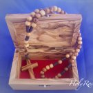 Olive Wood Box Jerusalem Design (MED)