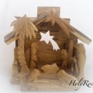 Olive Wood Christmas Nativity - Premium Quality