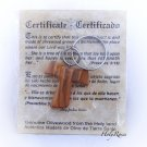 Olive Wood Keyring  Christian Tau Tao Cross Franciscan Design HJW
