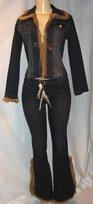 Seraph  Jr. Blue Denim Jacket & Jean Set