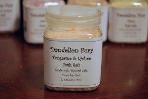 Tangerine & Lychee Bath Salt