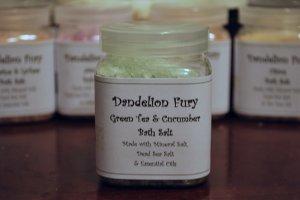 Green Tea & Cucumber Bath Salt
