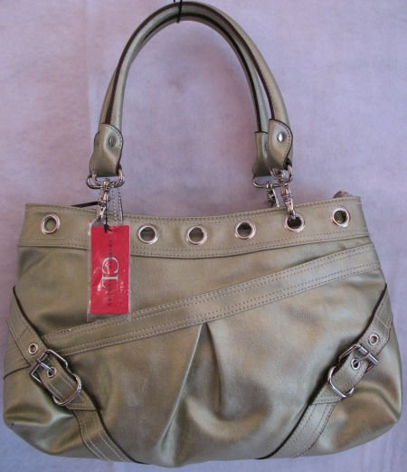 Metallic Sage Green Chinese Laundry Brand Handbag Bag Purse