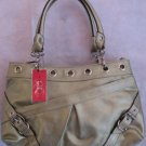Metallic Sage Green Chinese Laundry Brand Handbag Bag Purse