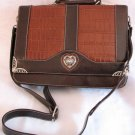 Genuine Leather Briefcase Style Handbag Bag Purse SOLD OUT