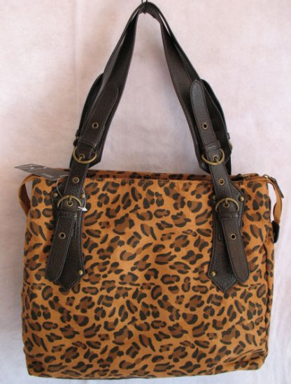 Cheetah print handbag tote purse bag ONLY 1 LEFT!