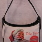 Santa & Coke Christmas handbag bag purse great deal!