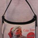 Santa & Coke Christmas handbag bag purse great deal!