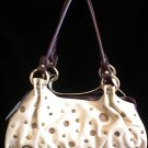 Grommet stud Beige brown handbag bag purse New Style