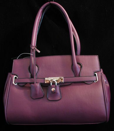 Plum inspired padlock handbag bag purse tote SOLD OUT