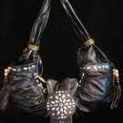 Rodeo Princess beaded tassels handbag bag purse