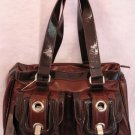 Inspired handbag Brown Large Bag AWESOME Purse