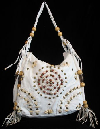 RODEO western beaded NWT HOT handbag bag purse s White