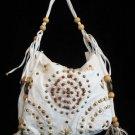 RODEO western beaded NWT HOT handbag bag purse s White