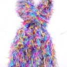Multi colored Purple Hot Pink Yellow Magic Scarf