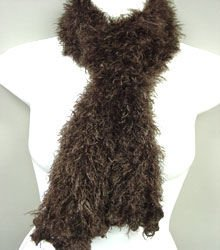 Dark Brown Magic scarf scarves wrap muffler