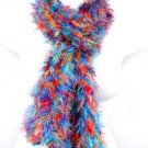 Multi colored MAGIC SCARF wrap muffler