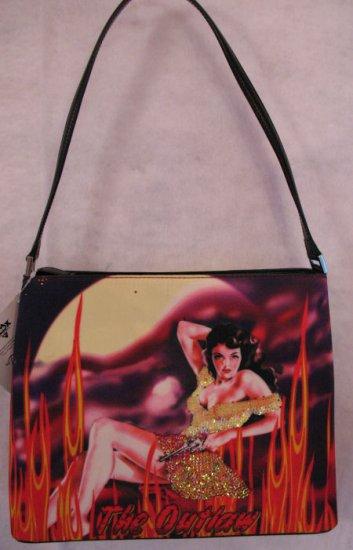 Hot Pin Up Girl Pop Culture Handbag Bag Purse