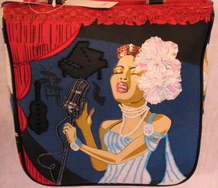 New Orleans Blues Singer Pop Culture Handbag Bag Purse RARE BAG
