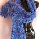 Blue and Purple Magic Scarf Scarves Wrap Super Soft!
