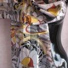 Beautiful print Floral swirl Scarf Scarves Wrap  CafeBug
